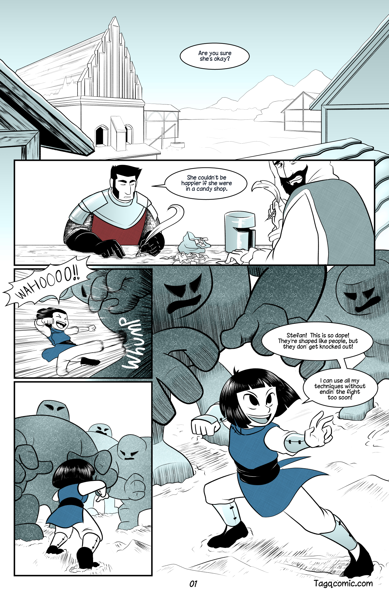 Big Trouble in Little Towns Pg.1