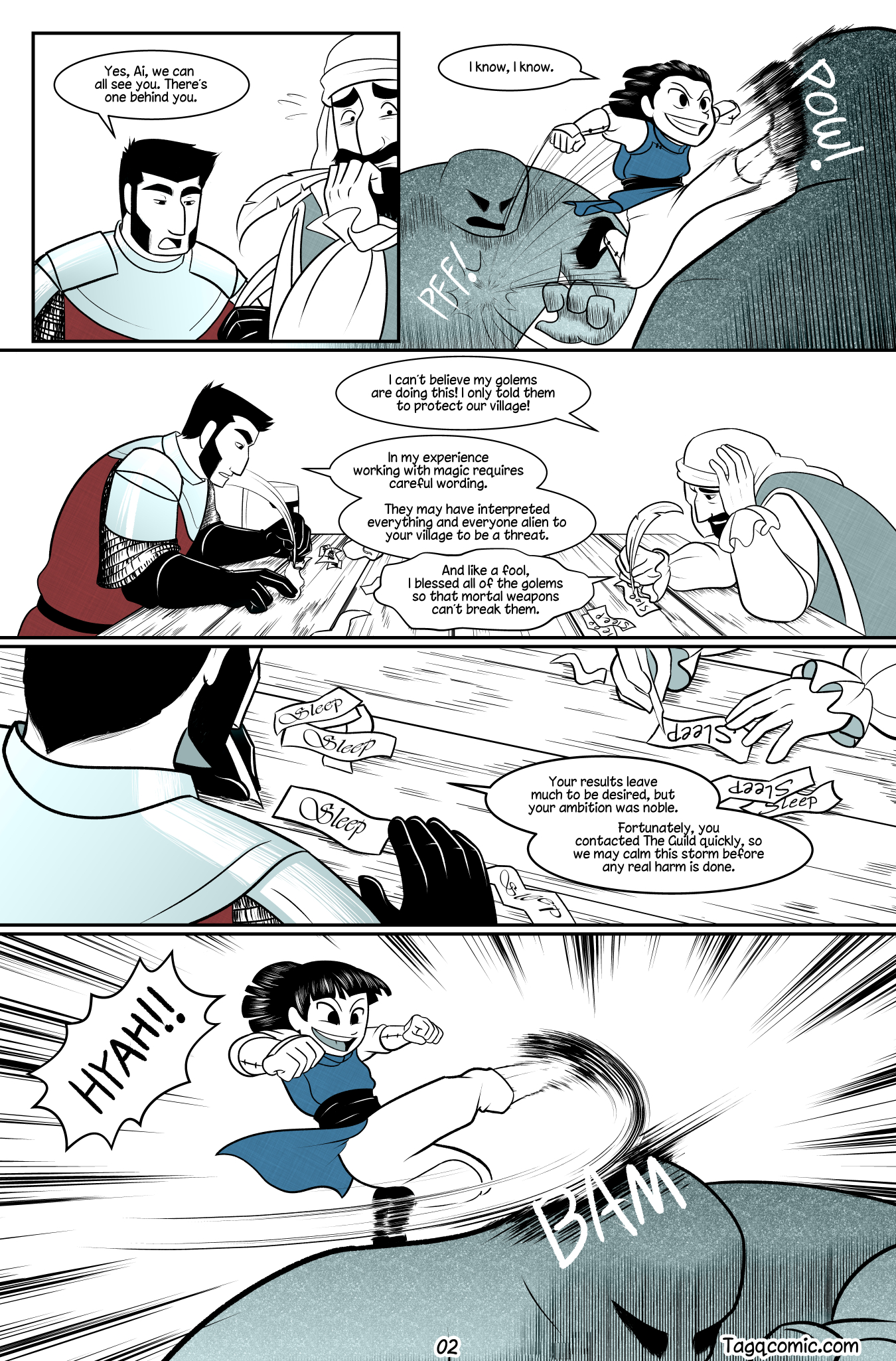 Big Trouble in Little Towns Pg.2