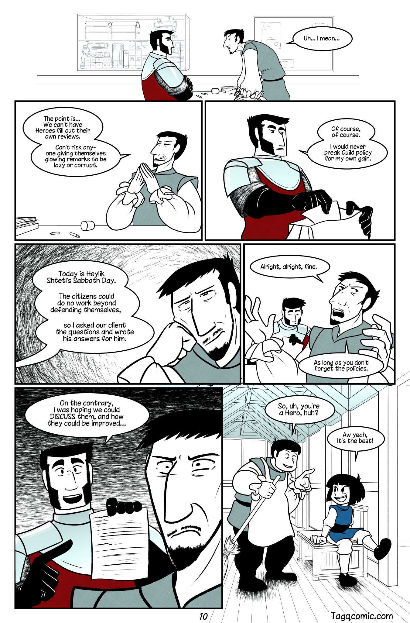 Big Trouble in Little Towns Pg.10