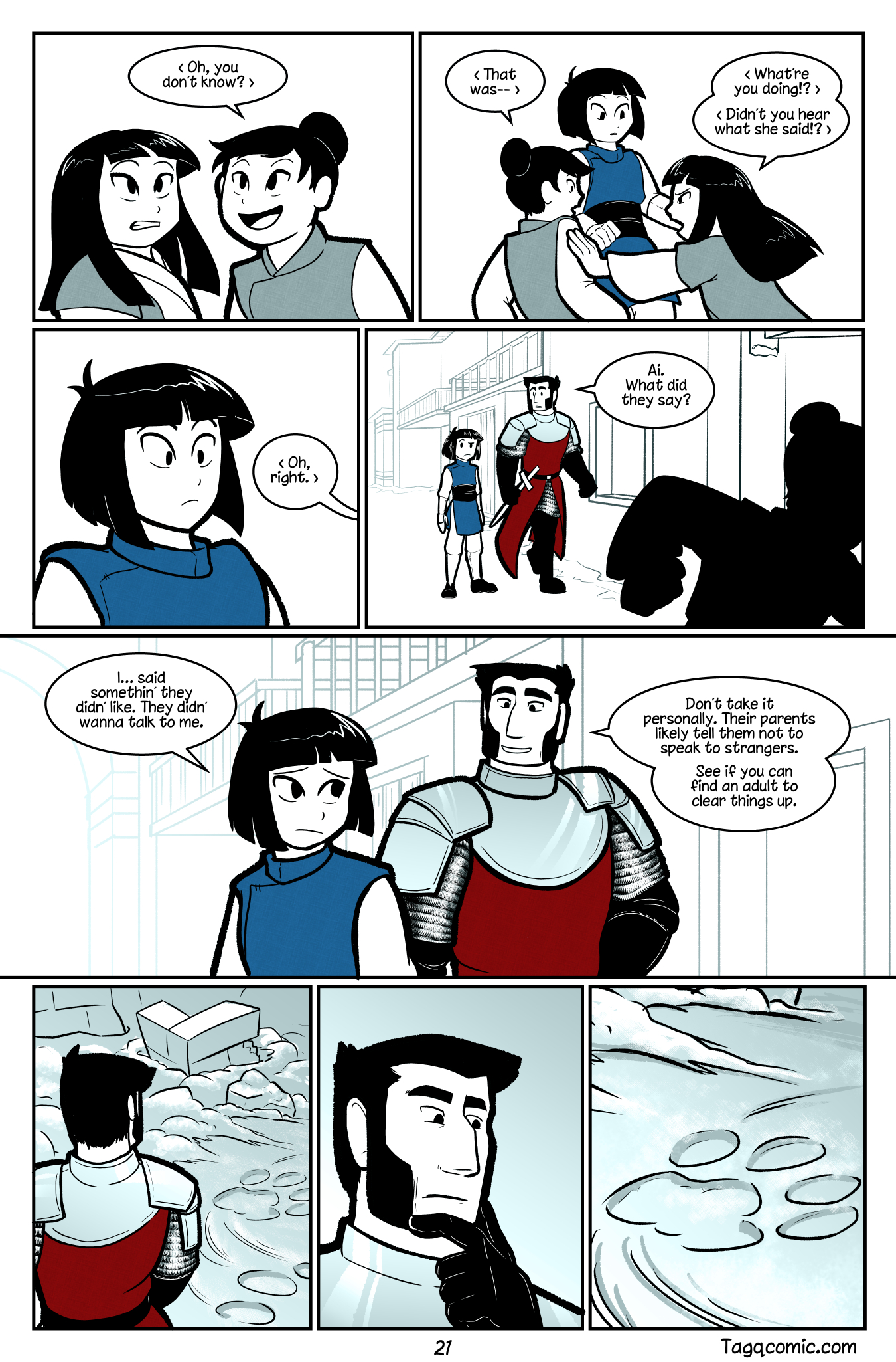 Big Trouble in Little Towns Pg.21