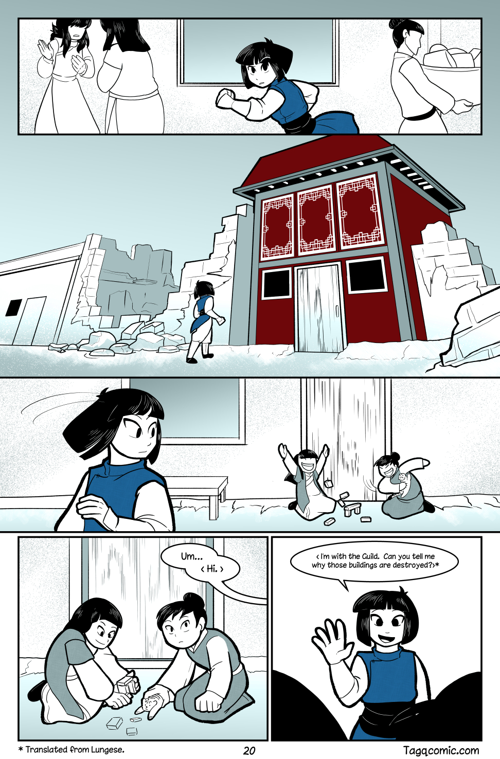 Big Trouble in Little Towns Pg.20