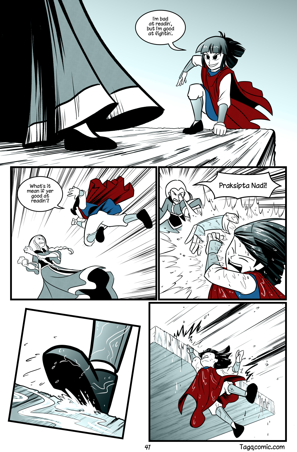 Big Trouble in Little Towns Pg.41