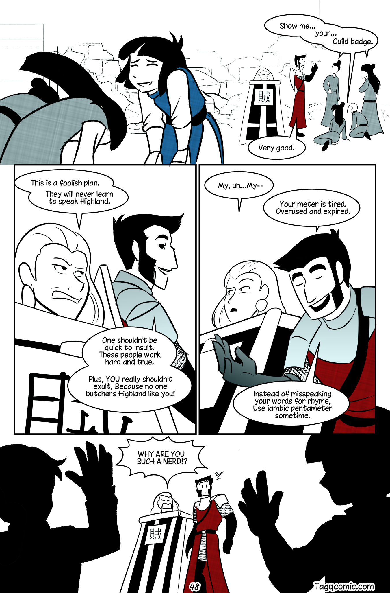 Big Trouble in Little Towns Pg.48