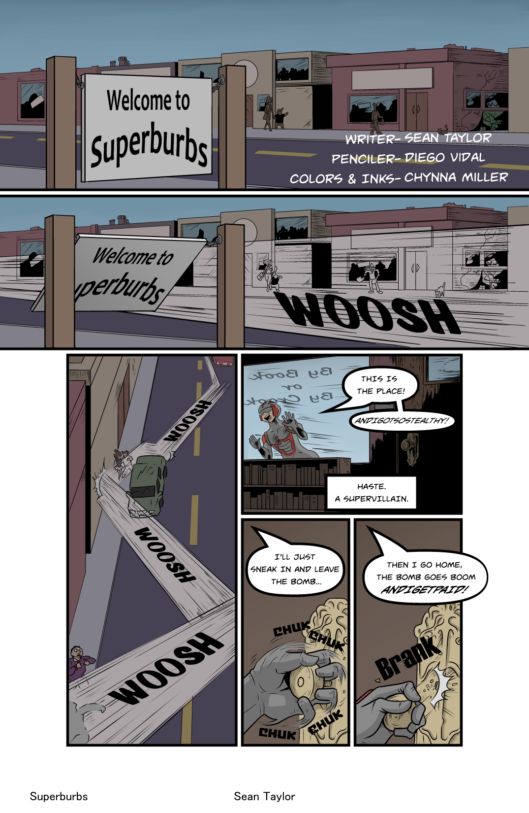 Welcome to Superburbs- Pg.1