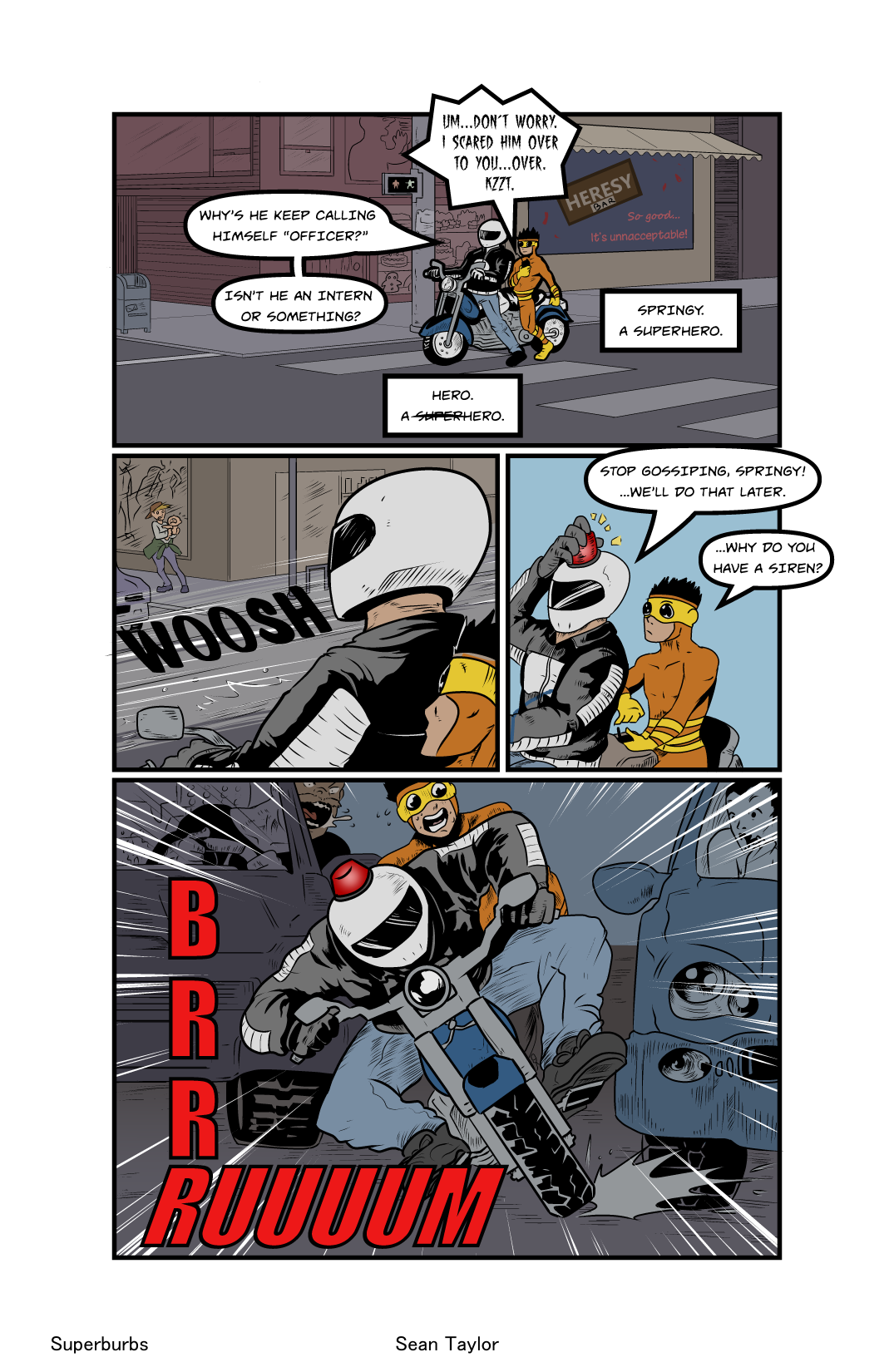 Welcome to Superburbs- Pg.7