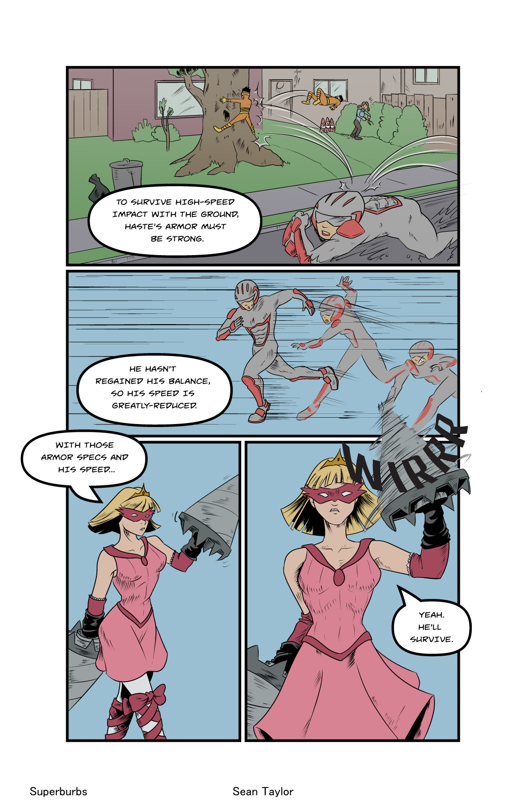 Welcome to Superburbs- Pg.14
